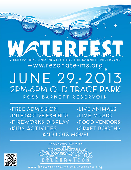 Waterfest-Flyer