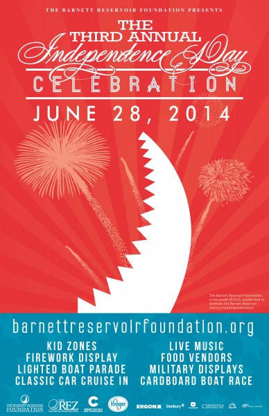 2014 The Rez Independence Day Celebration Poster