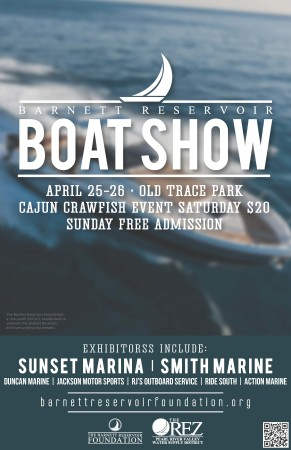 2015 The Rez Boat Show Poster