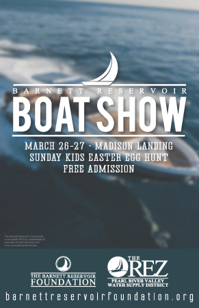 2016 The Rez Boat Show Poster 1st